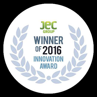 JEC Winner of 2016 Innovation Award logo